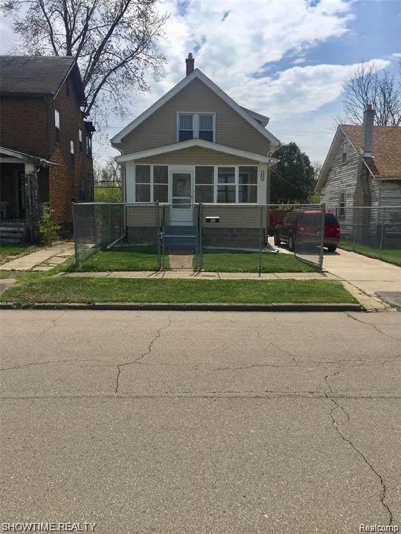1041 Adeline St, Highland Park, MI 48203 (MLS #R2200061823) :: Berkshire Hathaway HomeServices Snyder & Company, Realtors®