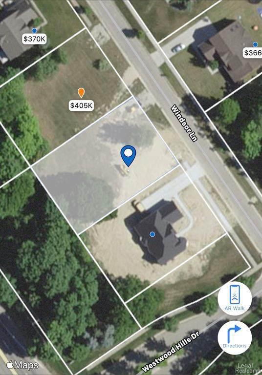 9595 Windsor Ln, Clarkston, MI 48348 (MLS #R2200073244) :: Berkshire Hathaway HomeServices Snyder & Company, Realtors®