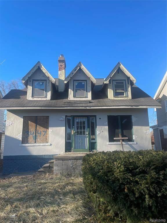 3447 Buckingham Ave, Detroit, MI 48224 (MLS #R2210005695) :: Berkshire Hathaway HomeServices Snyder & Company, Realtors®