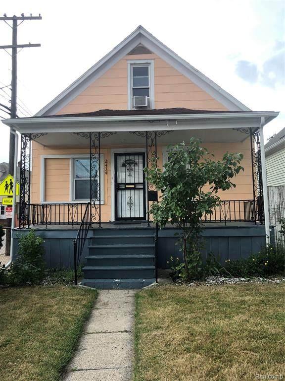 2434 Whalen Street, Hamtramck, MI 48212 (MLS #R2210051010) :: Berkshire Hathaway HomeServices Snyder & Company, Realtors®