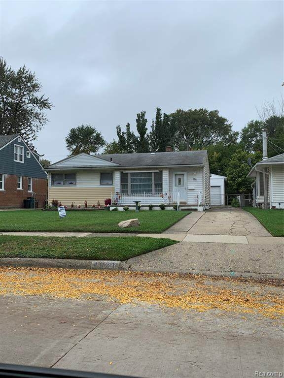 4021 Woodland Avenue, Royal Oak, MI 48073 (MLS #R2210072996) :: Berkshire Hathaway HomeServices Snyder & Company, Realtors®