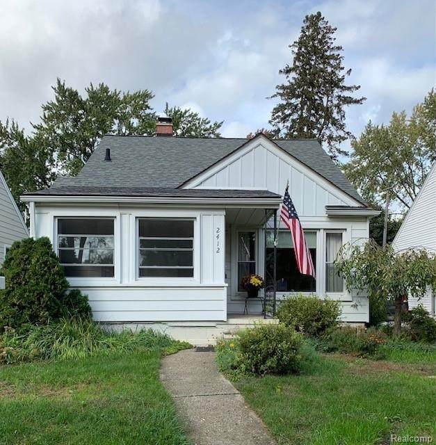 2412 Edgewood Boulevard, Berkley, MI 48072 (MLS #R2210057798) :: Berkshire Hathaway HomeServices Snyder & Company, Realtors®