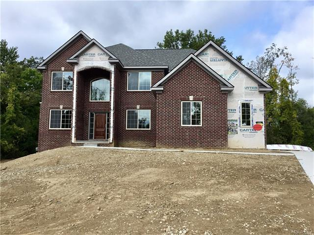 245 Stonebridge, Oxford, MI 48371 (MLS #R217059856) :: The Toth Team