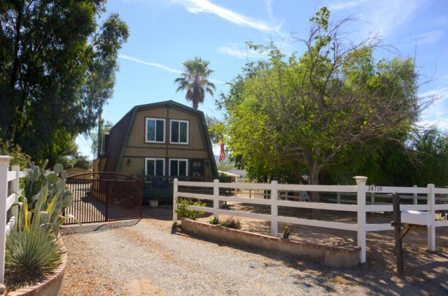 34718 Agua Dulce Canyon Road, Agua Dulce, CA 91390 (#18009981) :: The Real Estate Offices of Talbot and Watson
