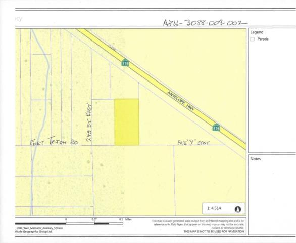 Vic Avenue X-10/257 St East, Mount Waterman, CA 93544 (#19002780) :: The Real Estate Offices of Talbot and Watson