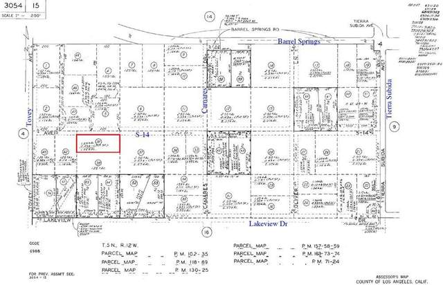 11th West & Ave S14, Palmdale, CA 93551 (#20008511) :: HomeBased Realty