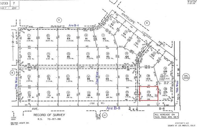 71st West On B8, Lancaster, CA 93536 (#20009207) :: HomeBased Realty