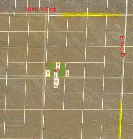 210 Ste Vic Ave D4, Lancaster, CA 93535 (#20009334) :: HomeBased Realty