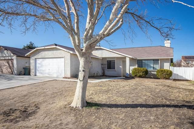 2021 Buckwheat Avenue, Rosamond, CA 93560 (#21001502) :: HomeBased Realty