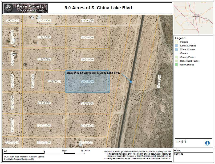 S. China Lake Blvd. - Photo 1