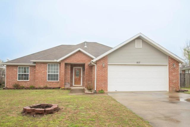 807 Ouachita Drive, Bentonville, AR 72712 (MLS #10002209) :: McNaughton Real Estate