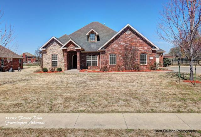 11189 Frisco Drive, Farmington, AR 72730 (MLS #10002748) :: McNaughton Real Estate