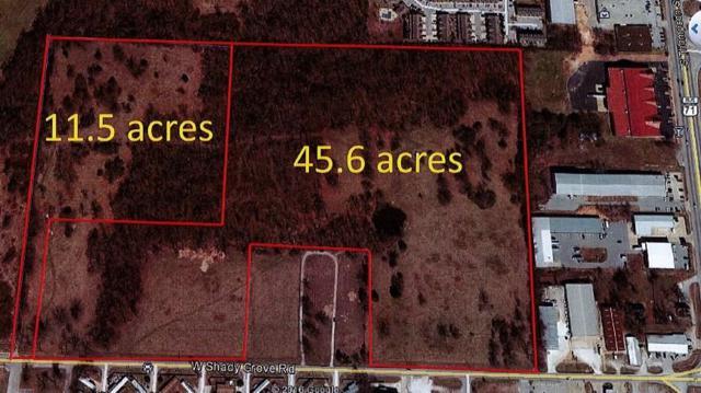 45 Ac  W Shady Grove  Rd, Springdale, AR 72764 (MLS #1025840) :: McNaughton Real Estate
