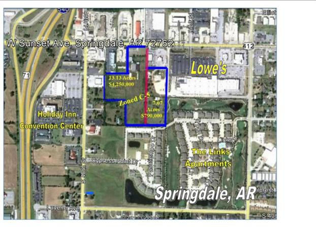 4579 W Sunset  Ave, Springdale, AR 72762 (MLS #1045936) :: McNaughton Real Estate