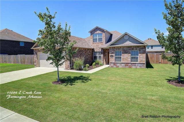11684 East Creek  Ln, Farmington, AR 72730 (MLS #1052420) :: McNaughton Real Estate