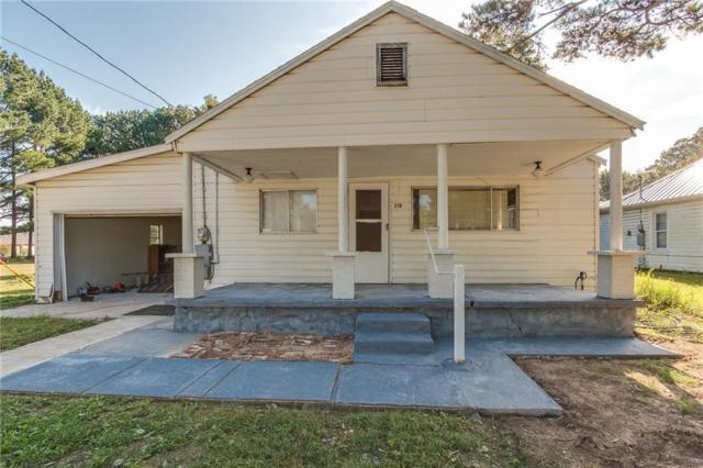 218 N Center  St, Elkins, AR 72727 (MLS #1057257) :: McNaughton Real Estate