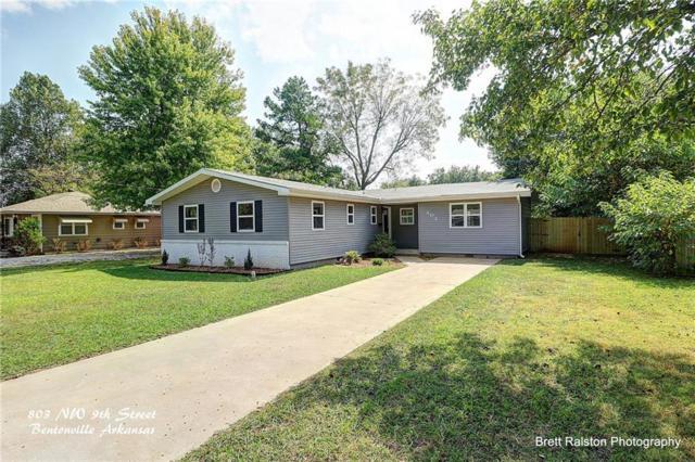 803 Nw 9th  St, Bentonville, AR 72712 (MLS #1059417) :: McNaughton Real Estate
