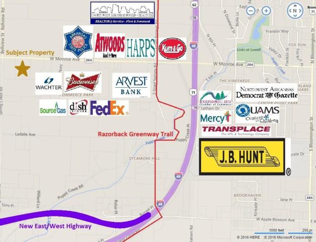 1525 W Monroe  Ave, Lowell, AR 72745 (MLS #1065140) :: McNaughton Real Estate