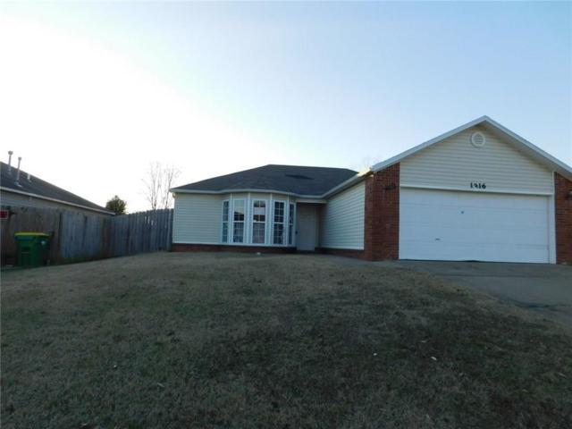 1816 Jade  Rd, Springdale, AR 72764 (MLS #1070556) :: McNaughton Real Estate