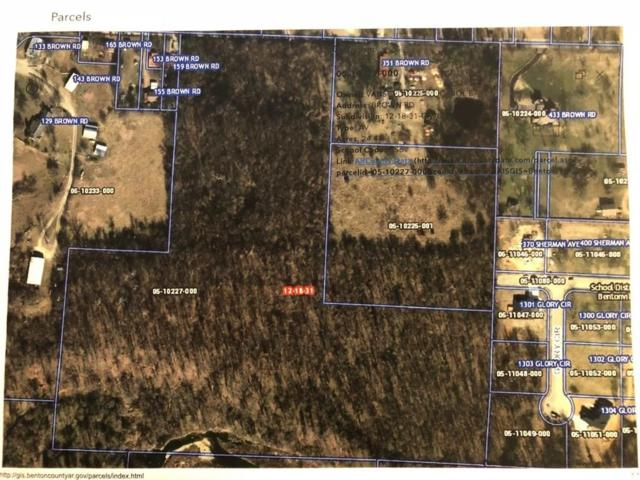 Brown Rd, Cave Springs, AR 72718 (MLS #1086199) :: McNaughton Real Estate