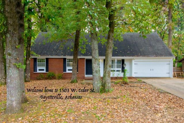 1503 Cedar  St, Fayetteville, AR 72703 (MLS #1094539) :: McNaughton Real Estate