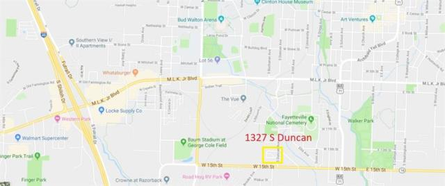 1327 S Duncan  Ave, Fayetteville, AR 72701 (MLS #1098194) :: Five Doors Real Estate - Northwest Arkansas