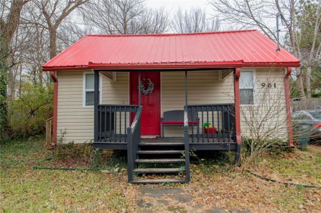 961 S Washington  Ave, Fayetteville, AR 72701 (MLS #1098776) :: Five Doors Real Estate - Northwest Arkansas