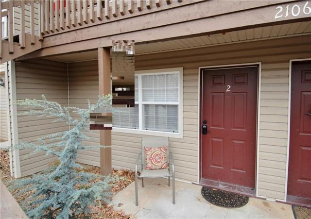 2106 N Garland  Ave Unit #2 #2, Fayetteville, AR 72704 (MLS #1101745) :: Five Doors Network Northwest Arkansas