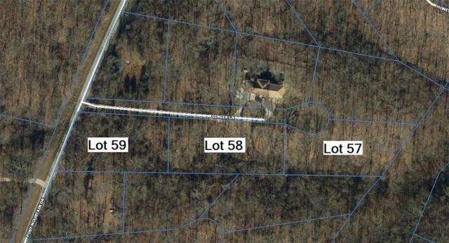 Ginger Lane Lot 57, Rogers, AR 72756 (MLS #1107826) :: McNaughton Real Estate