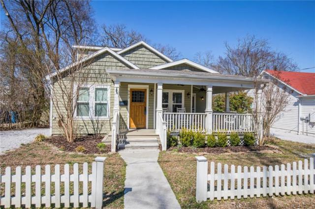 303 Se 2nd  St, Bentonville, AR 72712 (MLS #1108253) :: McNaughton Real Estate