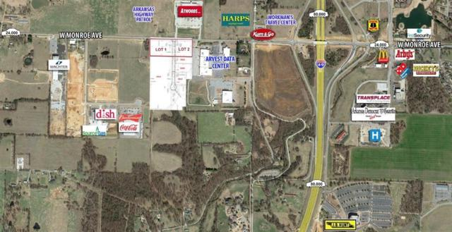 W Monroe Ave Lot 2, Lowell, AR 72745 (MLS #1108685) :: McNaughton Real Estate