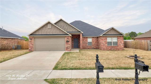 1305 Walker  Dr, Rogers, AR 72756 (MLS #1111568) :: Five Doors Network Northwest Arkansas