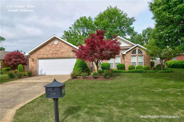 316 Center  Dr, Lowell, AR 72745 (MLS #1114719) :: McNaughton Real Estate