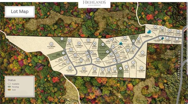 Lot 1 Highlands Way, Elm Springs, AR 72728 (MLS #1115425) :: McNaughton Real Estate