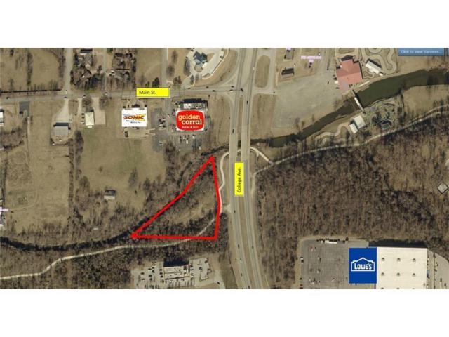 College Ave/Main  St Unit #2.47 Acres 2.47 Acres, Fayetteville, AR 72703 (MLS #1117615) :: HergGroup Arkansas