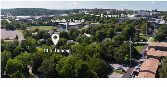 111 S Duncan  Ave, Fayetteville, AR 72701 (MLS #1118906) :: Five Doors Network Northwest Arkansas