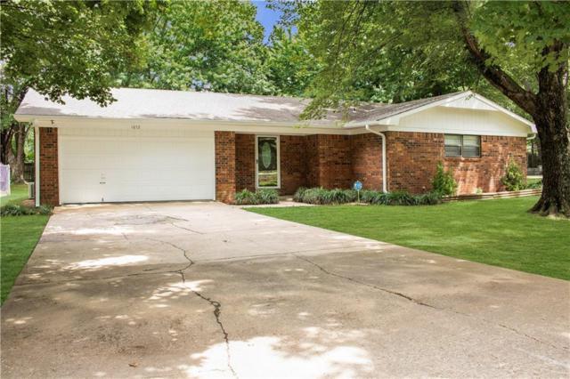 1672 Porter  Rd, Fayetteville, AR 72703 (MLS #1119282) :: Five Doors Network Northwest Arkansas