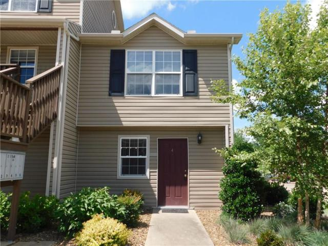 2158 N Garland  Ave Unit #4 #4, Fayetteville, AR 72704 (MLS #1120260) :: McNaughton Real Estate