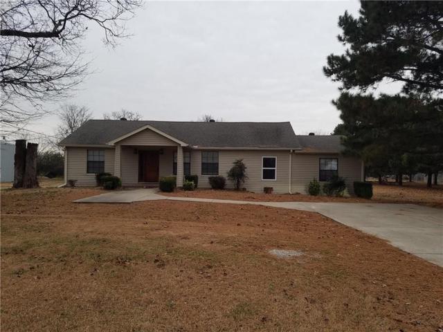 5165 Cedar  Dr, Colcord, OK 74338 (MLS #1122431) :: Five Doors Network Northwest Arkansas