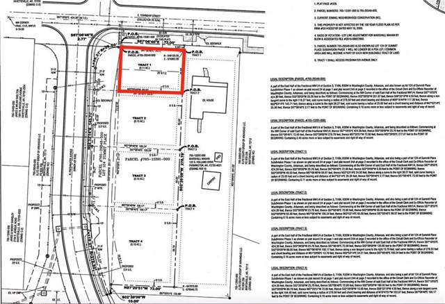 Tract 1  N Freshwater  Ave, Fayetteville, AR 72703 (MLS #1130347) :: Five Doors Network Northwest Arkansas