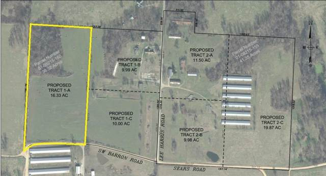 Tract 1-A Lee Harris Road, Bentonville, AR 72713 (MLS #1133911) :: McNaughton Real Estate