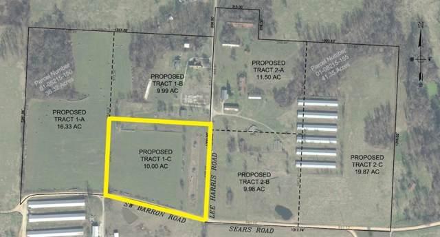 Tract 1-C Lee Harris Road, Bentonville, AR 72713 (MLS #1133917) :: McNaughton Real Estate