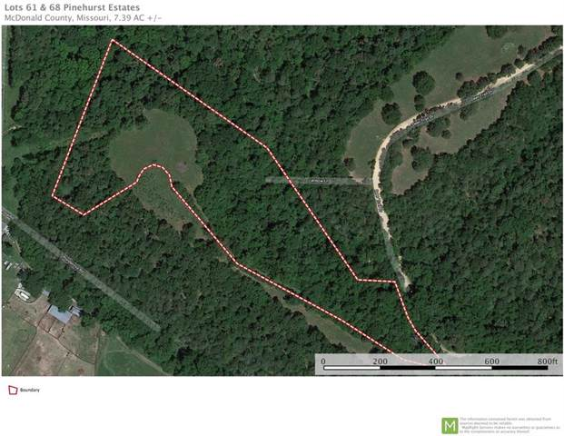 7.35 AC Sky View Drive, Pineville, MO 64856 (MLS #1138334) :: McNaughton Real Estate