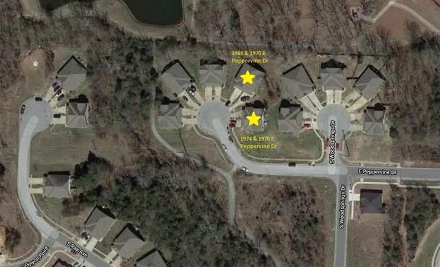 1968, 1970, 1974 & 1976  E Peppervine  Dr, Fayetteville, AR 72701 (MLS #1138799) :: McNaughton Real Estate