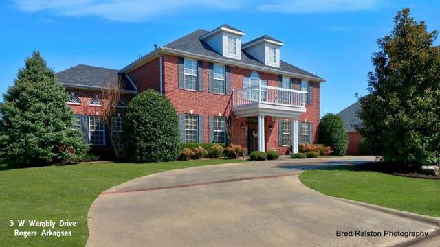 3 W Wembly  Dr, Rogers, AR 72758 (MLS #1143449) :: McNaughton Real Estate