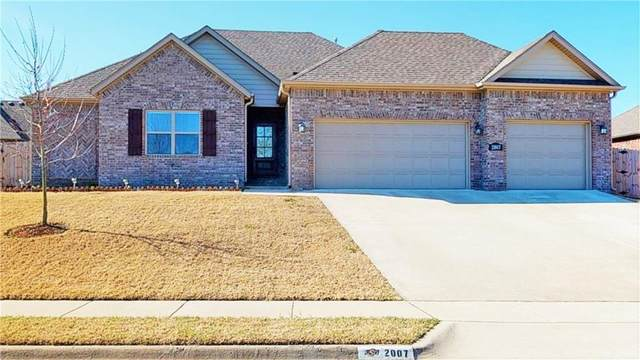 2007 Venice  Ave, Lowell, AR 72745 (MLS #1143602) :: McNaughton Real Estate