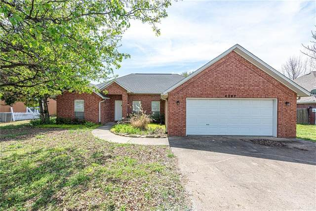 4297 W Bell Flower  Dr, Fayetteville, AR 72704 (MLS #1143795) :: McNaughton Real Estate