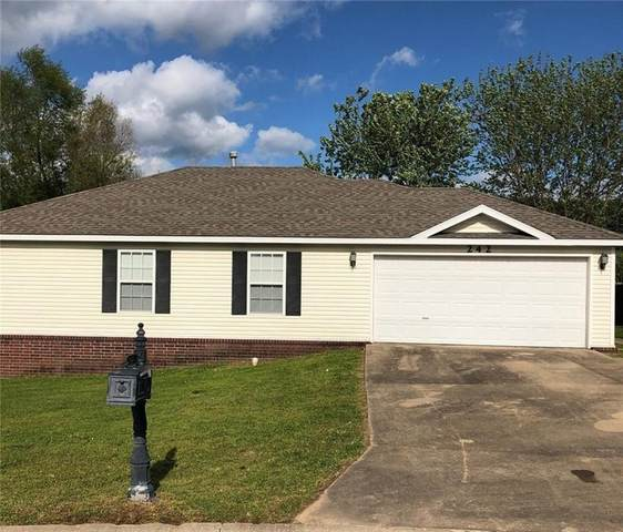 242 Elizabeth Drive, Huntsville, AR 72740 (MLS #1145852) :: Five Doors Network Northwest Arkansas