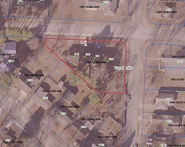 611 W 13th Street, Fayetteville, AR 72701 (MLS #1150012) :: McNaughton Real Estate