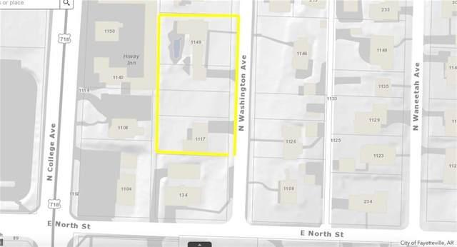 1149 & 1117 Washington Avenue, Fayetteville, AR 72703 (MLS #1161176) :: Five Doors Network Northwest Arkansas